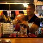 Bartender Shaking Cocktail