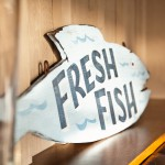 Fresh Fish Sign