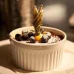 Blueberry Crème Brûlée